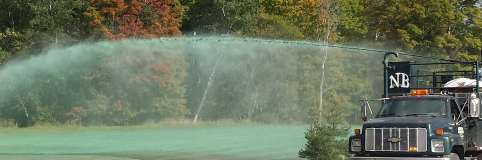 Hydroseeding
